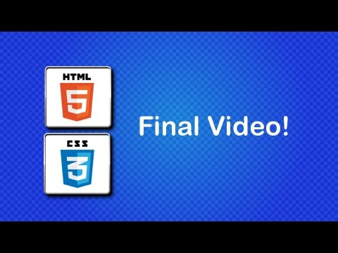 HTML5 And CSS3 Beginner Tutorial 47 - Uploading Your Website To A Webhost