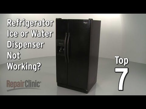 "Thumbnail for video ""Top 7 Reasons Refrigerator Dispenser Isn't Working?"""