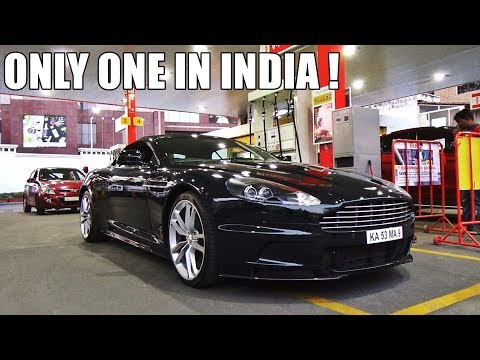 INDIA'S ONLY ASTON MARTIN DBS VOLANTE - Walk-around, Startup & Revs