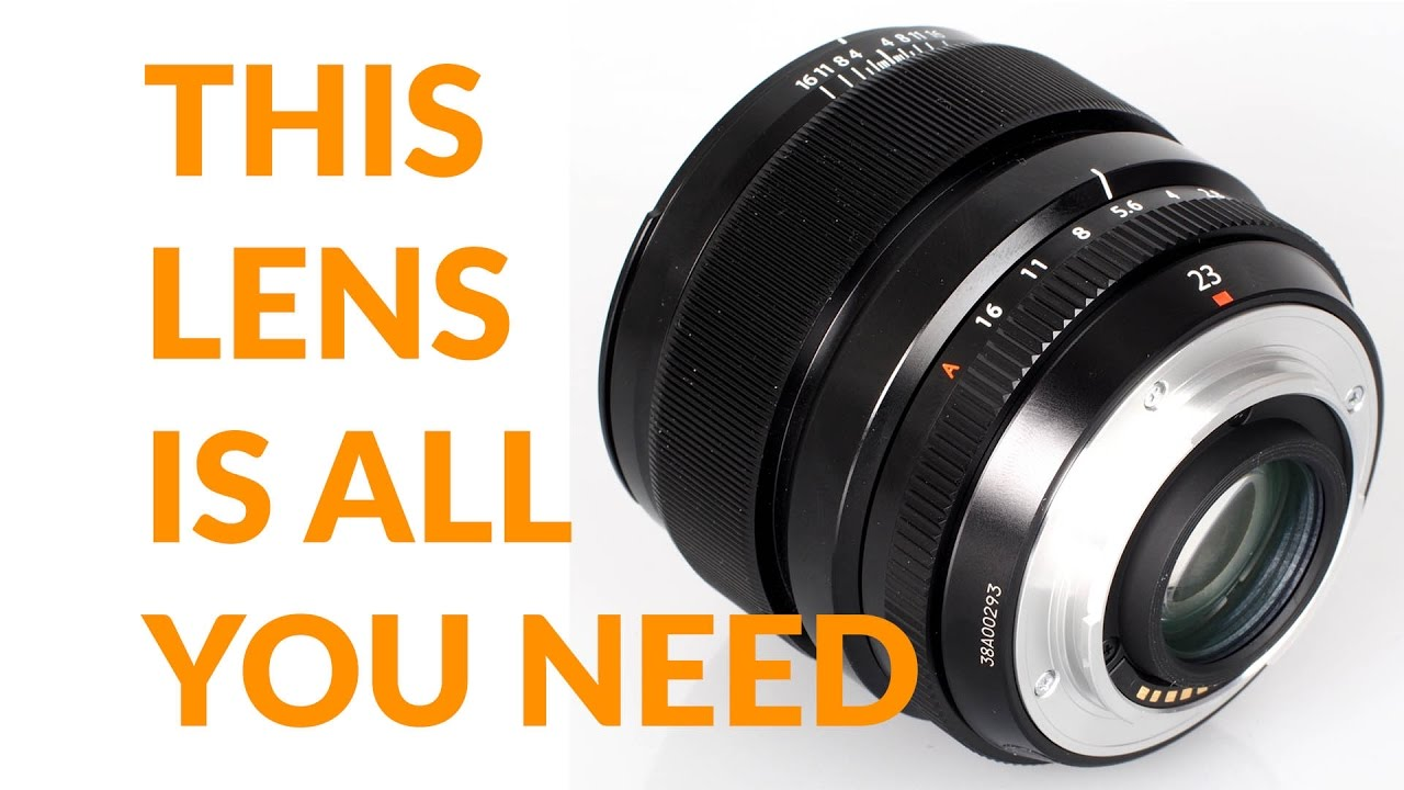 The Fujifilm Lens YOU MUST OWN 23mm 1 4: Best Lens for X Pro 2, X-T2, X Pro  1, X-T1