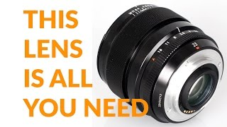 The Fujifilm Lens YOU MUST OWN 23mm 1.4: Best Lens for X Pro 2, X-T2, X Pro 1, X-T1