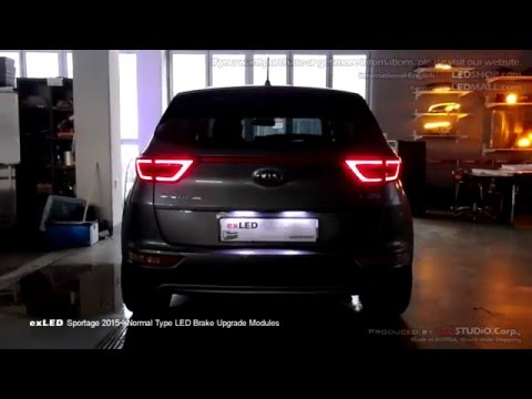exled sportage 2015 normal type led brake upgrade modules. Black Bedroom Furniture Sets. Home Design Ideas
