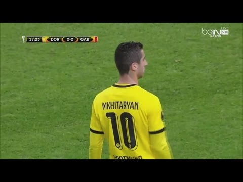 Henrikh Mkhitaryan Vs. FK Qäbälä (Home) 05|11|2015