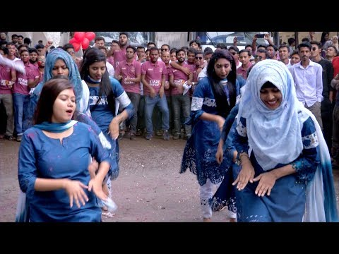 Jagannath University || New Official Rag Day Flash Mob || Ac