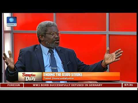 Wesley Uni VC Analyses Issues On ASUU Strike,Education Sector Pt.2 |Sunrise Daily|