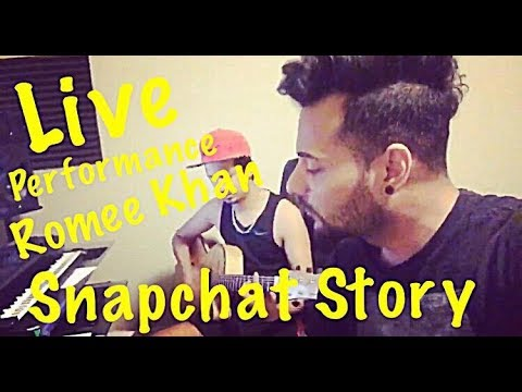 Romee Khan - Singing Live SnapChat Story On Guitar | Desi Music Factory