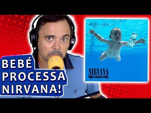 Bebé da capa do Nevermind processa Nirvana 🤦♂️