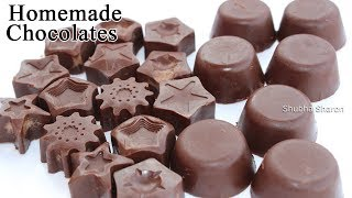 how to make chocolate at home easy