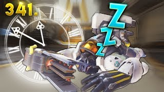 NEW PERMANENT SLEEP TRICK.. | Overwatch Daily Moments Ep. 341 (Funny and Random Moments)