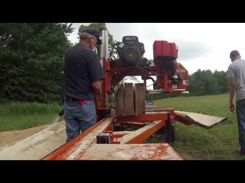 wood-mizer lt35 hydraulic portable sawmill 1