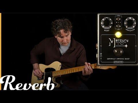 Spaceman Mercury IV Germanium Harmonic Boost   Reverb Tone Report