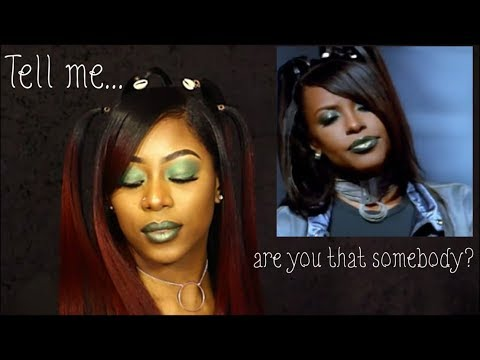 Aaliyah x 'Are You That Somebody?' Inspired Look | Hair + Makeup thumbnail