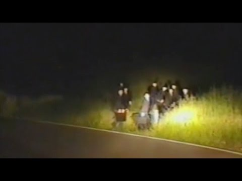 MEN IN BLACK APPEARS IN THE MIDDLE OF THE NIGHT ON A HIGHWAY JULY 7 2016 (EXPLAINED)