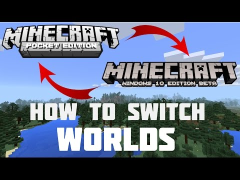 Is it possible to play the same minecraft world on different devices