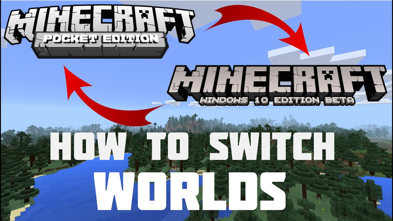 How To Convert Minecraft PE Worlds To Minecraft Windows Worlds - Minecraft spielstand zurucksetzen