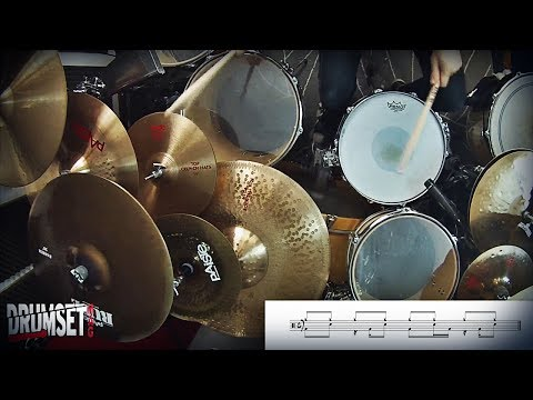Gamma Ray  Beyond the Black Hole Daniel Zimmermann Drum Exercise and Grooves