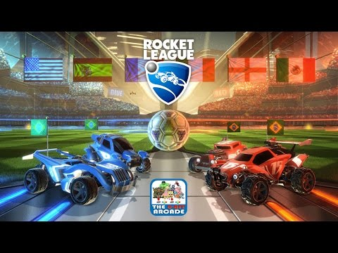 Rocket League  HighOctane, RocketPowered Battle Cars Playing Soccer PS4 Gameplay