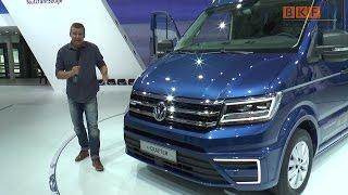 Volkswagen auf der IAA Nutzfahrzeuge 2016 - BKF TV Reportage Special