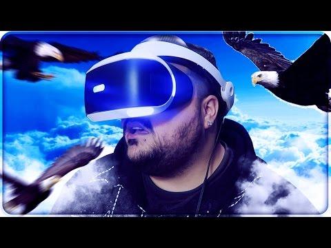IL SOGNO DI TUTTI...VOLARE COME UN'AQUILA !!! [Playstation VR]