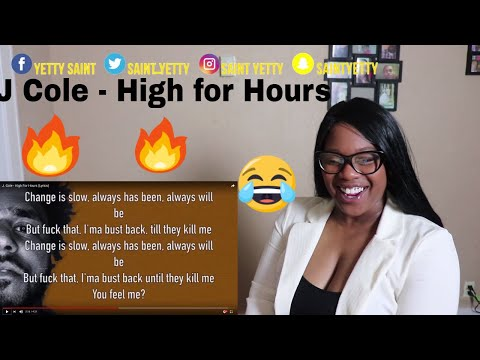 Mom reacts to J. Cole - High For Hours (Lyrics) | Reaction