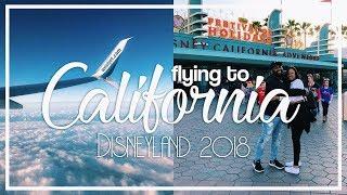 Disneyland 2018: Flying to Cali & Crying | VLOG Day 63