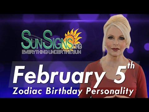 Facts & Trivia - Zodiac Sign Aquarius February 5th Birthday Horoscope
