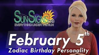 facts trivia   zodiac sign aquarius february 5th birthday horoscope