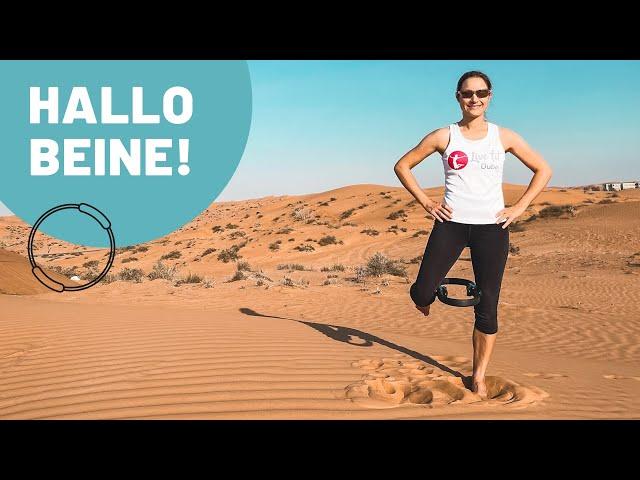 Bein Workout mit Pilatesring | Übungen für die Beine mit Pilates Ring