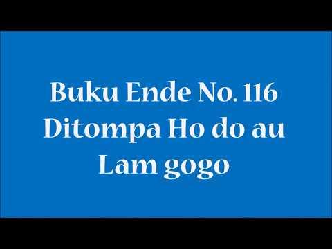 Buku Ende No 116 Ditompa Ho do au
