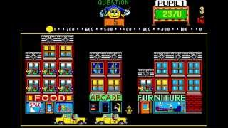 Professor Pac-Man 1983 Arcade