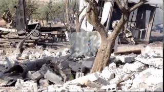 Сирия. Вот что осталось от лагеря ИГИЛ после ударов российской авиации.