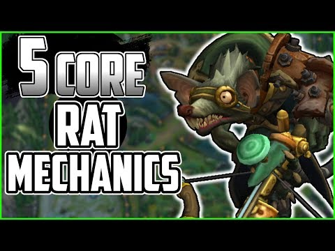 5 Core Twitch Mechanics To Get You Playing Like RAT IRL - League Of Legends