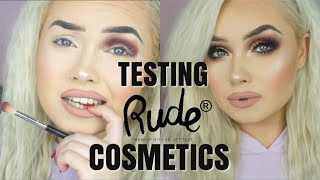 FULL FACE REVIEW - RUDE COSMETICS