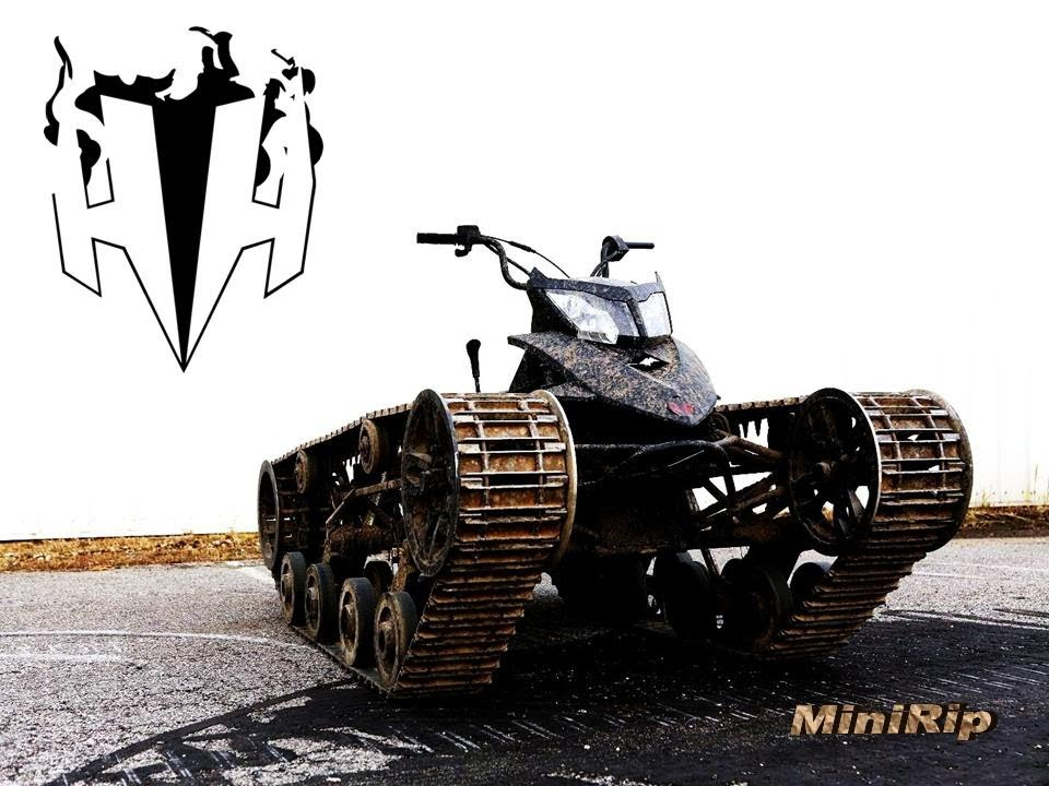 Mini Ripsaw Unreal Crazy Video Of The Most Kickass Atv