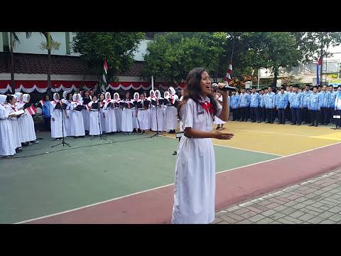Ars Vocis Choir - SYUKUR (Upacara 17/08/2017 Kec. Kemayoran, Jakarta)