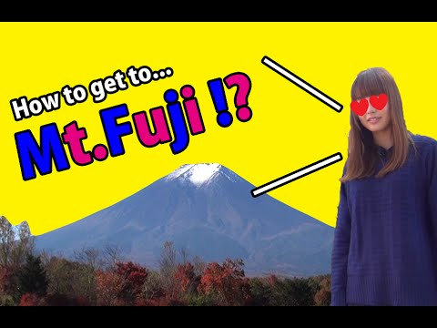How to get to Mt Fuji !? Welcome to Japan !!