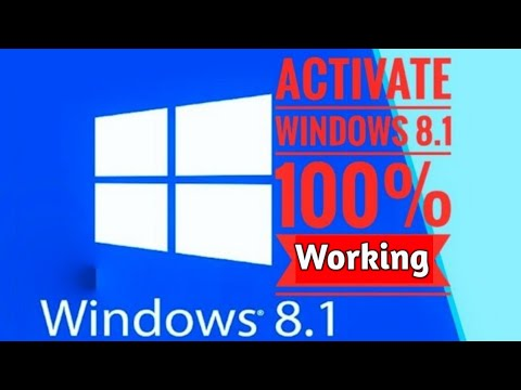 How To Activate Windows 8 And 8.1 Without Product Key 2019  || Hindi ||
