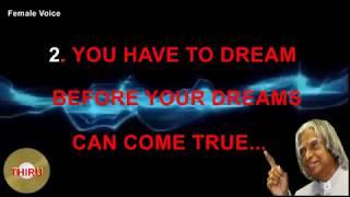 Apj Abdul Kalam Dream Quote Free Online Videos Best Movies Tv