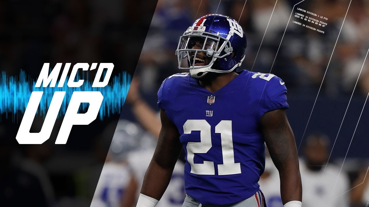 Landon Collins Mic d Up Trying to Stop the Cowboys High Powered