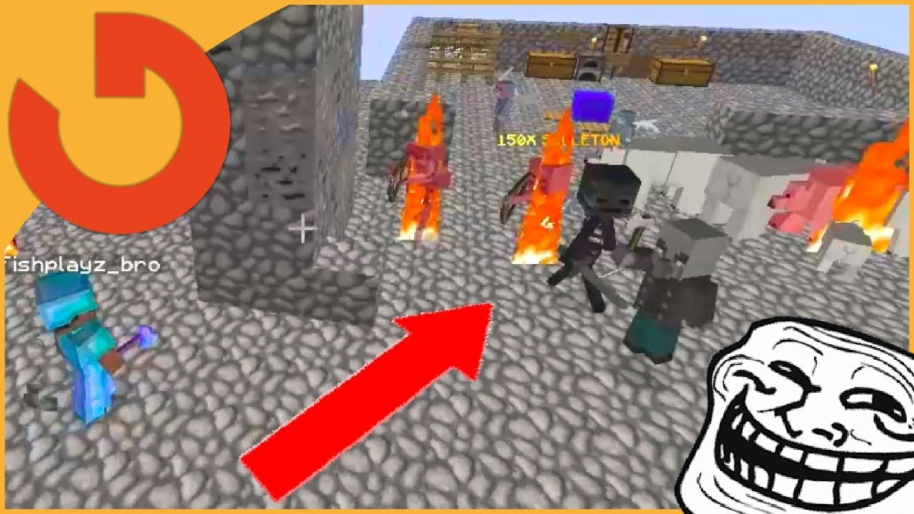 KID CRIES OVER RANDOM MOBS! (Minecraft Trolling Ep 152)
