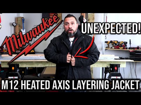 Milwaukee M12 Heated AXIS Layering System Is NOT WHAT I EXPECTED!