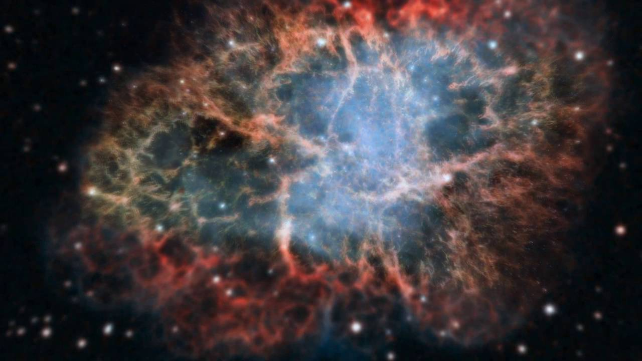 The Crab Nebula as never seen before -Hubble Telescope ...