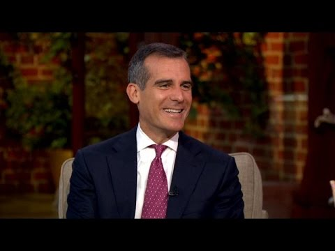LA Mayor Eric Garcetti Talks Raising The Minimum Wage