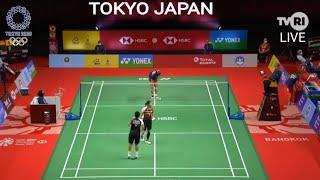 SEDANG BERLANGSUNG 🔴 LIVE TVRI BULU TANGKIS INDONESIA DI OLIMPIADE TOKYO HARI INI 24 JULI 2021