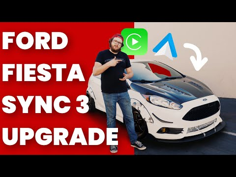 Ford Fiesta Sync 2 to Sync 3 Upgrade