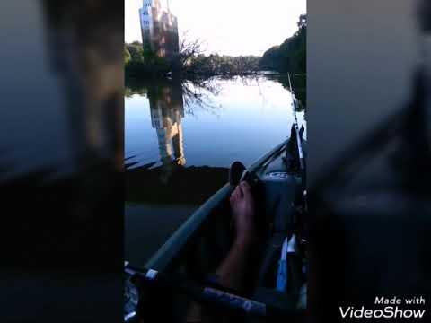 Kayak fishing ouachita river