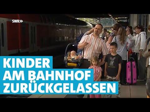 Vater muss Kinder am Bahnsteig stehen lassen