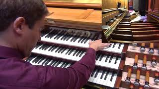 Widor Allegro VI/1 Raul Prieto Ramirez Cavaille-Coll organ Moscow Conservatory Great Hall