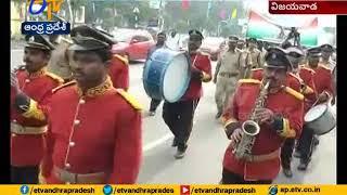 Rally Held in Vijayawada | on the Eve of Police Martyrs Week | CP Gautam Sawang Takes Part
