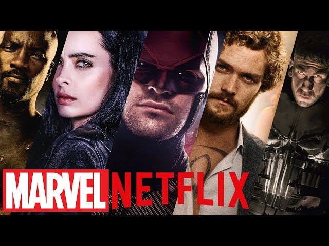 Marvel Netflix Intros (Daredevil, Jessica Jones, Luke Cage, Iron Fist, The Defenders, The Punisher)
